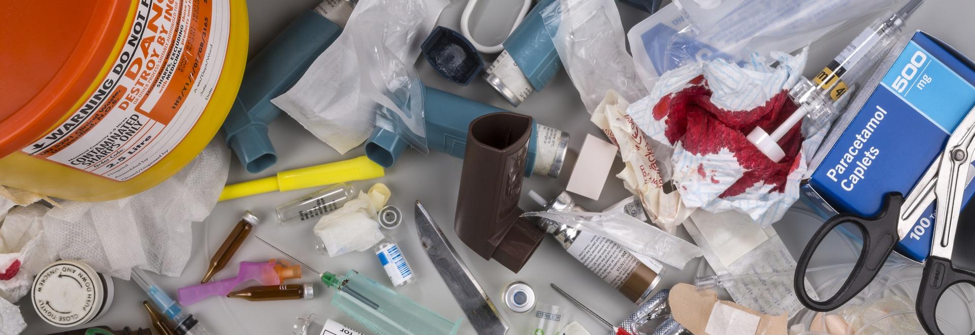 basura médica