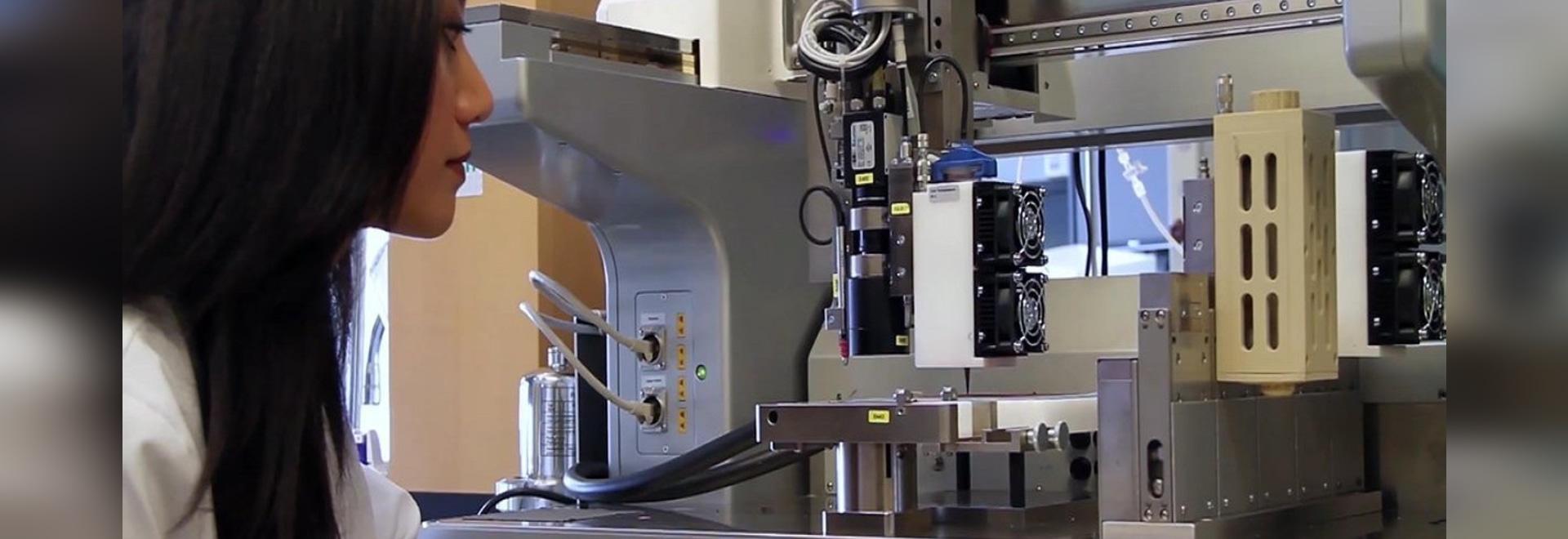 El bioplotter 3D de EnvisionTEC