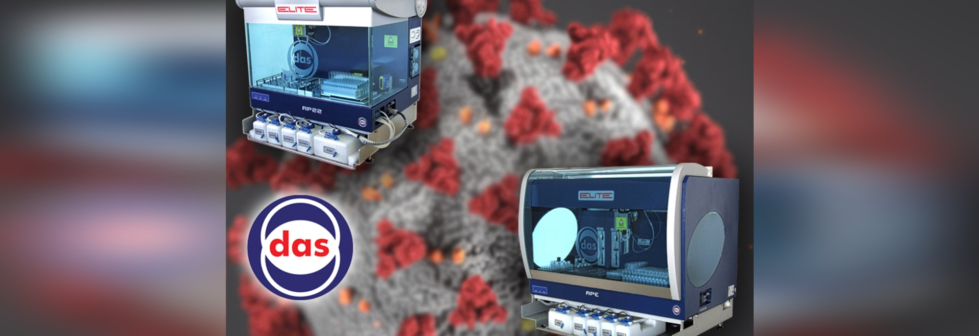 DAS - ELISA Sistemas flexibles para procesar la mayoría de las pruebas ELISA de Covid-19