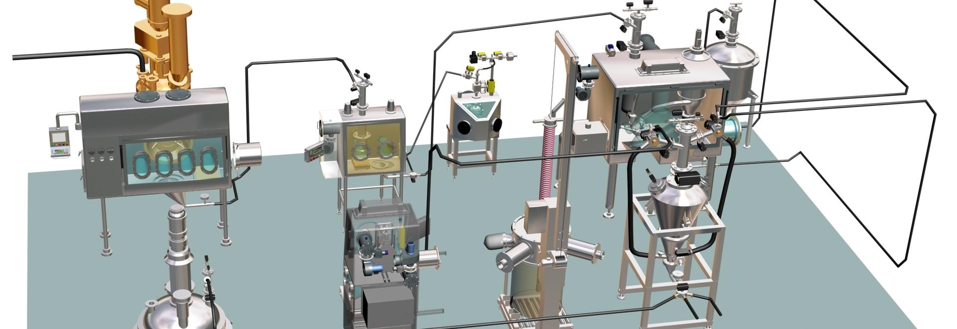 Descubra los beneficios de una instalación farmacéutica modular, desde la manipulación de las materias primas hasta el embalaje final