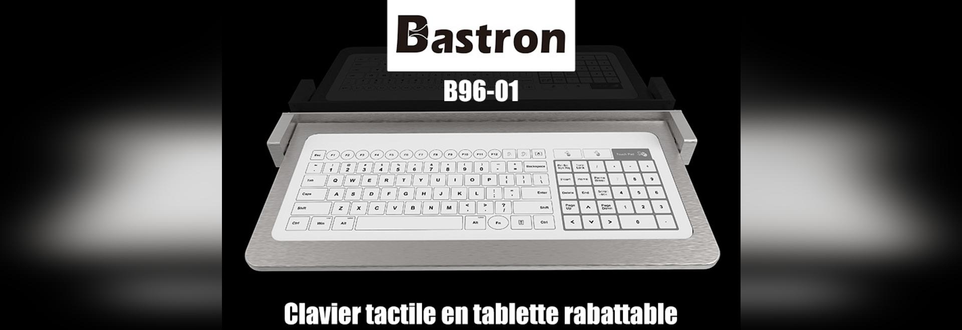 Glass keyboard in folding metal tablet