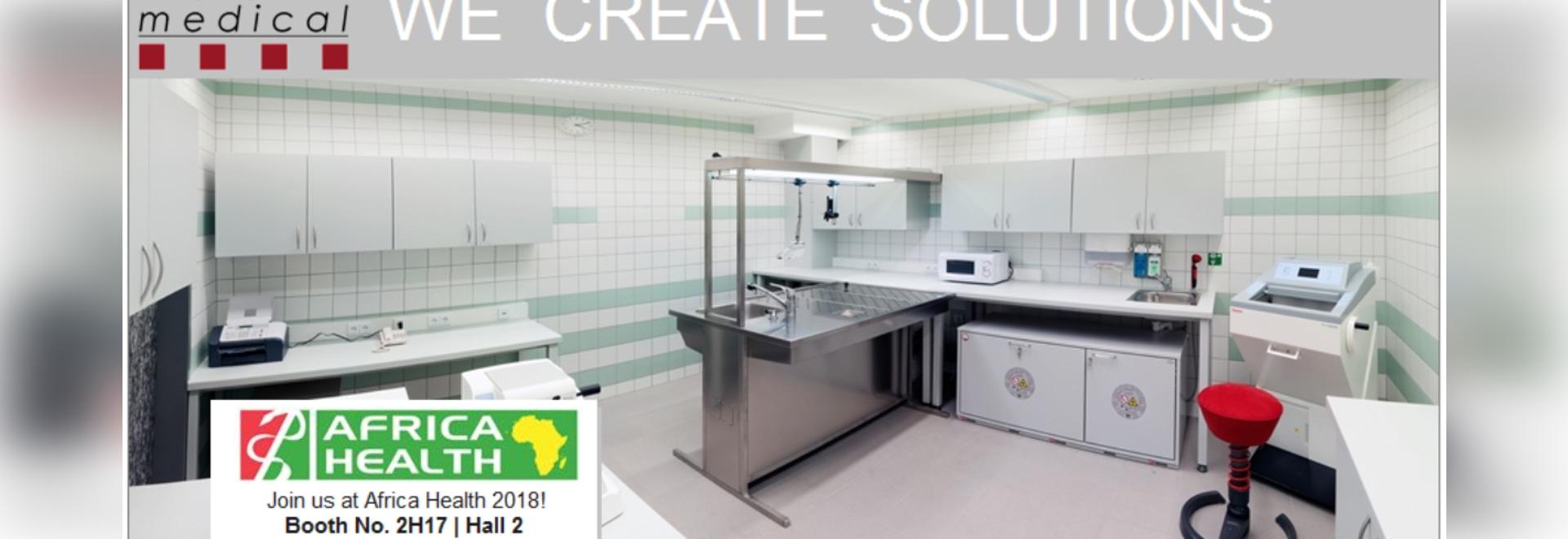 KUGEL médico en la salud 2018 de África: Pasillo 2, cabina ningún 2H17