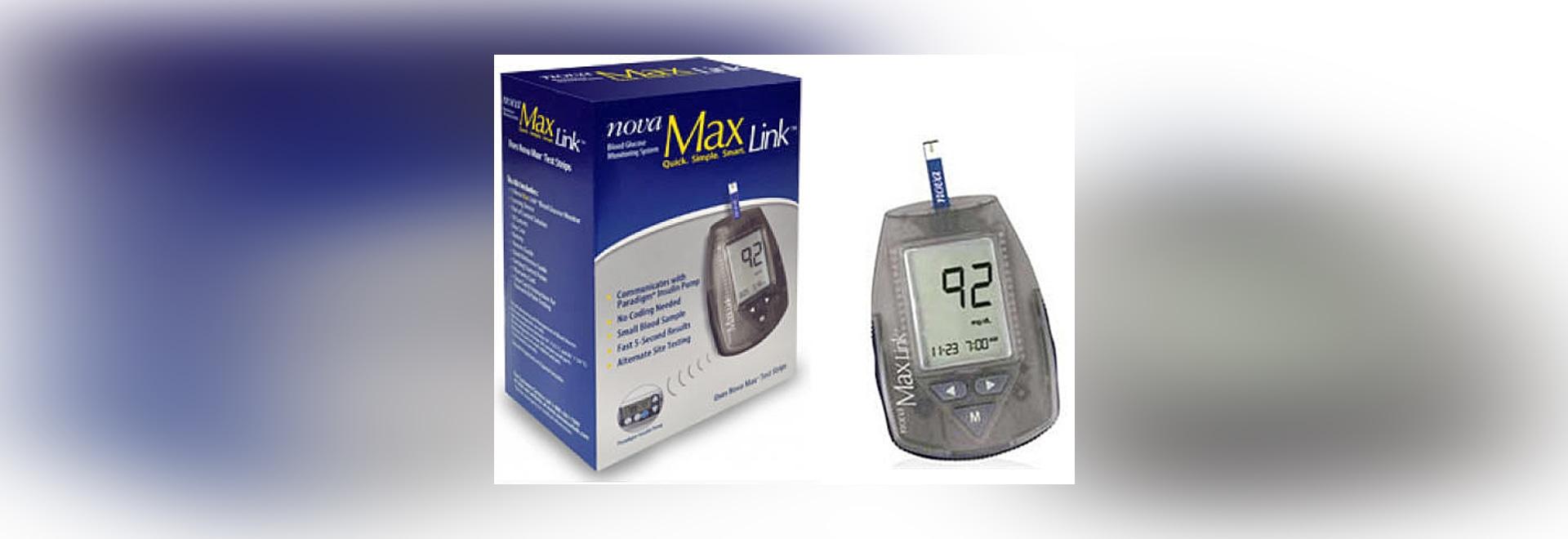 Nueva Nova Max® Link™ de Nova Biomedical