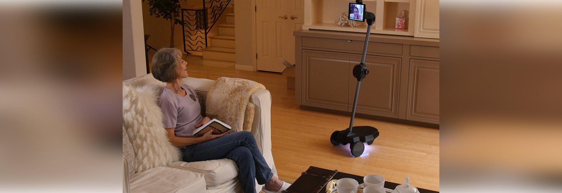 OhmniLabs utiliza los robots para hacer Telepresence una realidad: Visto en CES 2019
