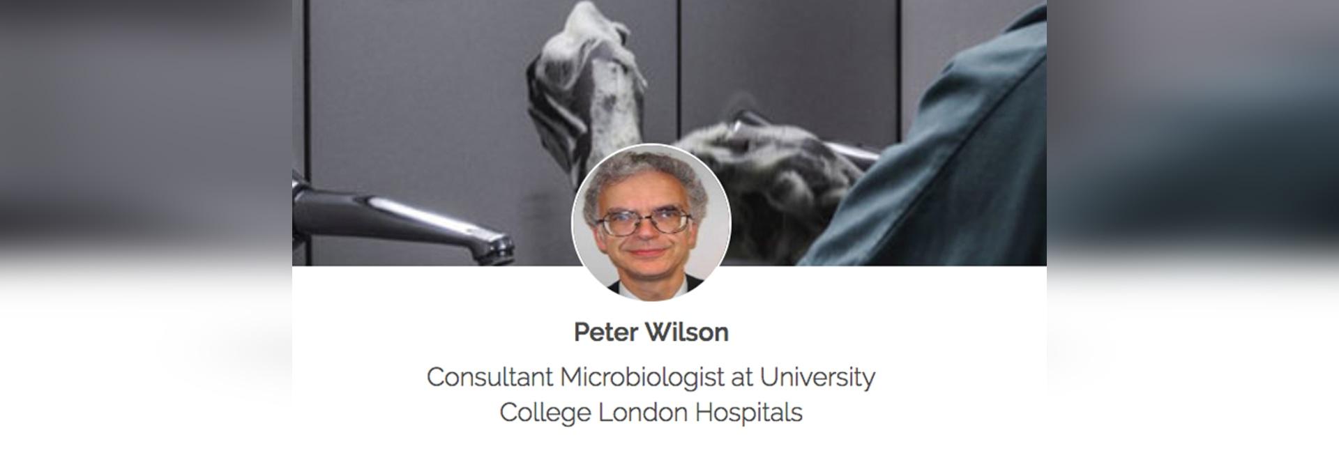 Peter Wilson - ideas elegantes y manos limpias: Cómo los ambientes afectan el control de enfermedades