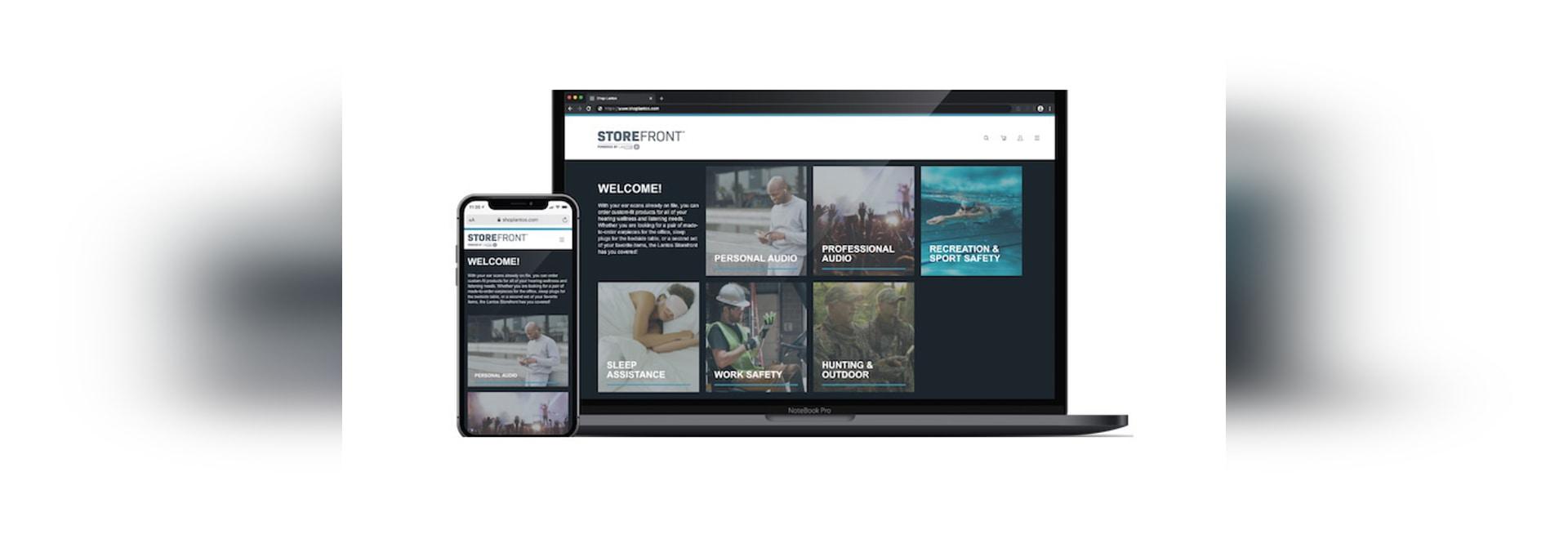 El portal de productos B2C en oído lanzado por Lantos