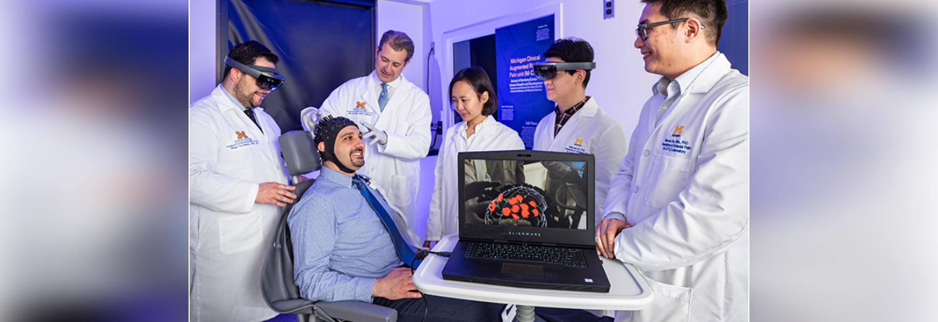 """Sistema de realidad aumentada permite a los médicos """"ver"""" el dolor del paciente"""