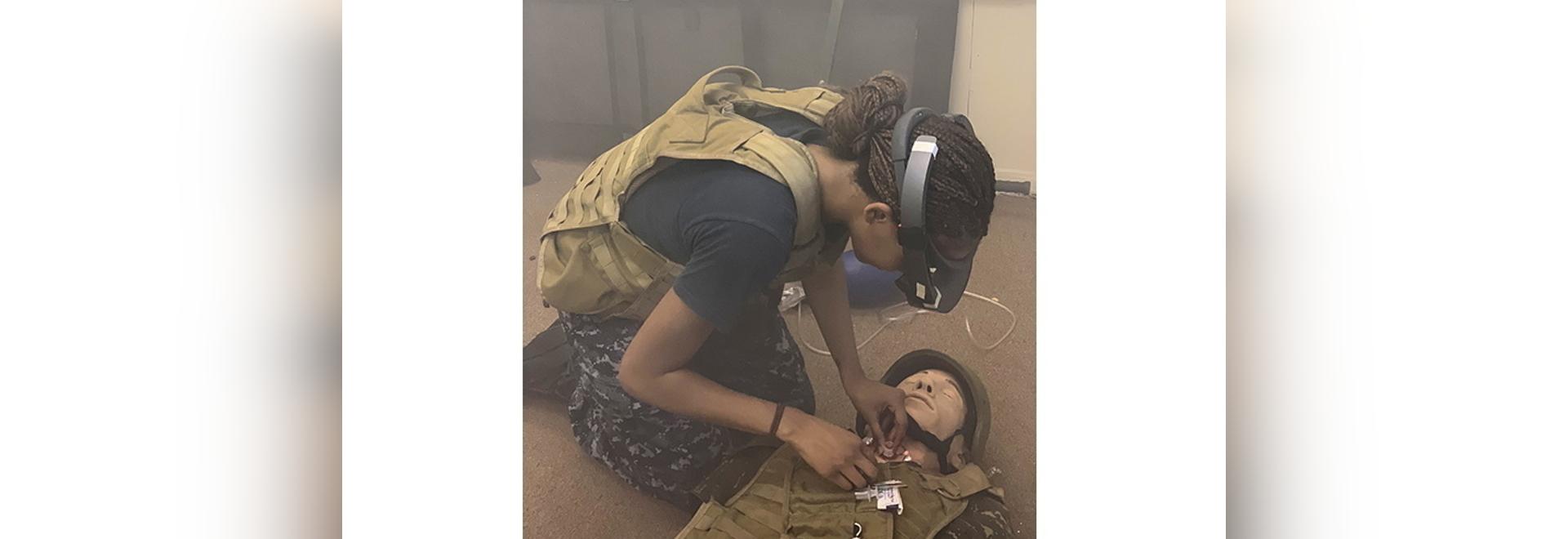 La telemedicina de realidad aumentada ha demostrado ser efectiva en el campo de batalla