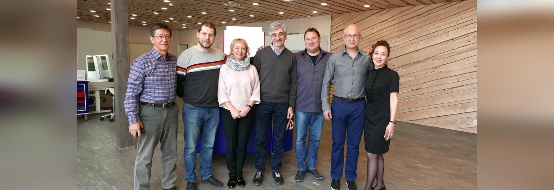 Visita de negocios de LAMSYSTEMS a Finlandia