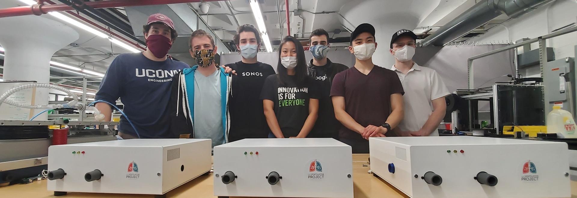 Voluntarios se unen para desarrollar un nuevo ventilador durante la pandemia COVID-19