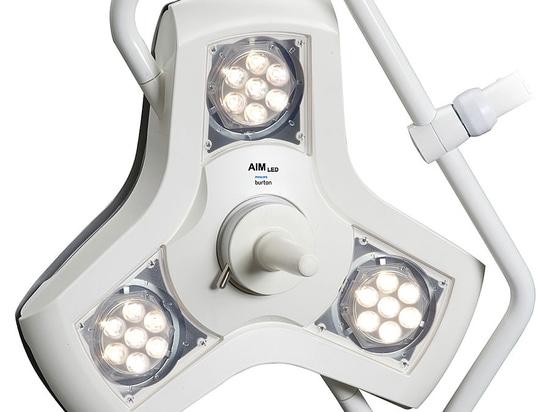 PUNTERÍA LED de Philips Burtons a la revolución emocionante en la iluminación de la examinación
