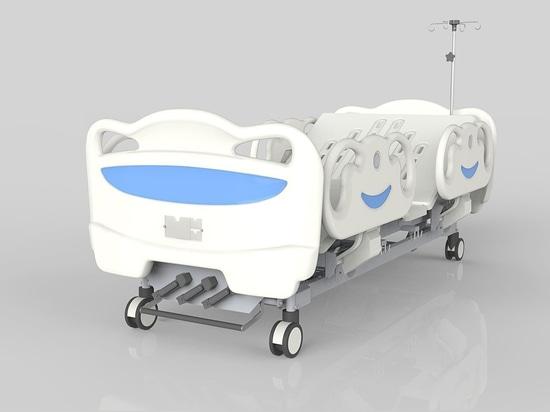 Cama manual de función triple del hospital