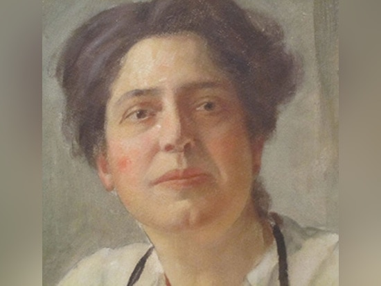 Sala de Lillian en 1919. Imagen: Public domain, galería nacional del retrato, tarjeta del día de San Valentín Schevill de Guillermo