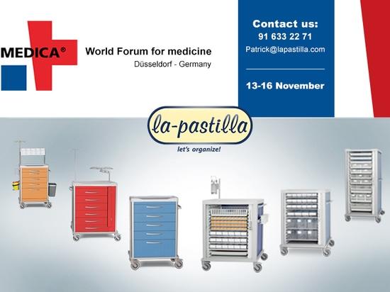 La Pastilla estará en Medica 2017, Düsseldorf.