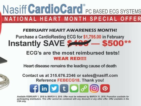 ¡Febrero es mes de la conciencia del corazón!