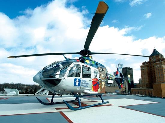 El helicóptero médico pediátrico de Ohio celebra el 10mo aniversario