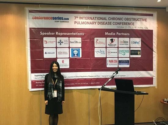 Feellife en la 7ma conferencia internacional de la enfermedad pulmonar obstructiva crónica