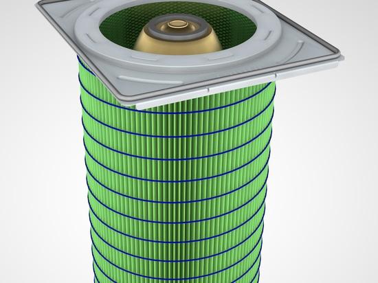 Cartuchos de filtro para la eliminación del polvo industrial de gran eficacia