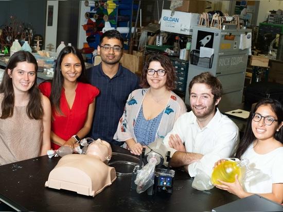 La invención estudiantil da a los pacientes el aliento de vida