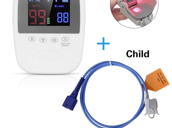 El oxyhemograph de mano se equipa de tres puntas de prueba para que a los adultos, a los niños y a los recién nacidos cubran las necesidades de supervisión de diversas poblaciones.