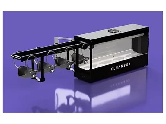 Cleanbox utiliza UVC para descontaminar 100 mascarillas quirúrgicas por hora