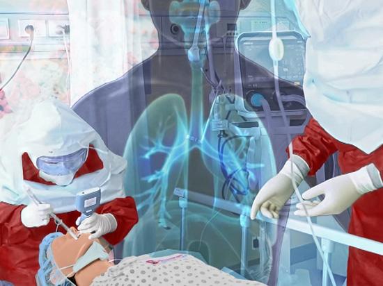 SmartMan RSIM ARDS / COVID-19 Simulador de Resucitación para la Respuesta Coordinada al Síndrome de Dificultad Respiratoria Aguda