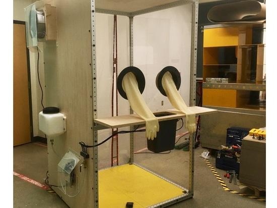 La cabina de pruebas de COVID Drive-Through desarrollada en Penn State
