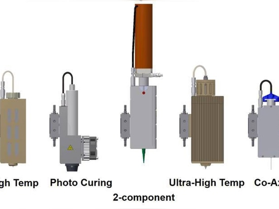 Cabezas de impresión modulares