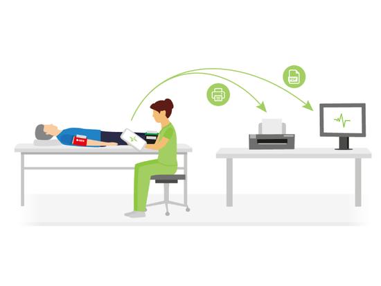 cómo combinar los procedimientos de diagnóstico necesarios, el seguimiento de los pacientes, las tendencias y el ahorro de tiempo