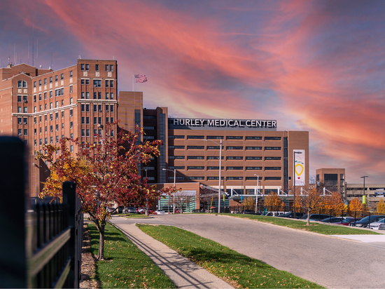 El Centro Médico Hurley utiliza tecnologías inteligentes, IA, robótica, registros médicos electrónicos, telemedicina...