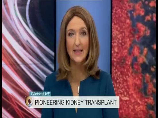 Primera impresión 3D del mundo usada en trasplante vida-cambiante del riñón