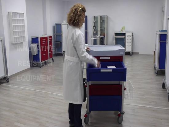 Carro video Novimed del hospital
