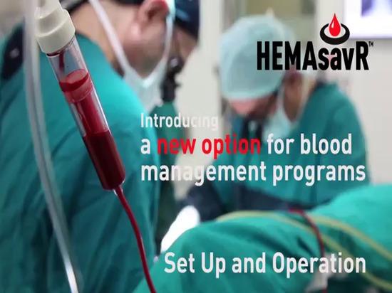 HEMAsavR ayuda a recuperar más sangre intraoperatoria