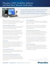 Pharmacy 2000™ Workflow Software and FlexCheck® Remote Verification