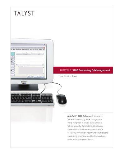 AUTOSPLIT: 340B Processing & Management