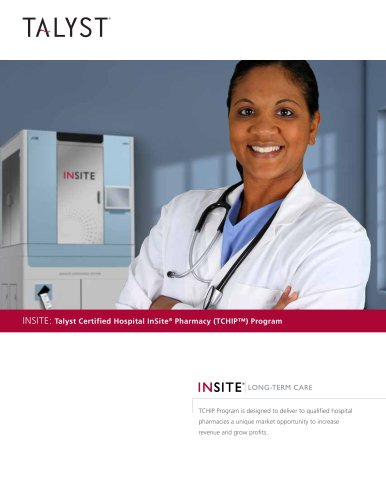 Talyst Certified Hospital InSite Pharmacy (TCHIP)