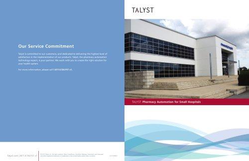 Talyst: Pharmacy Automation for Small Hospitals