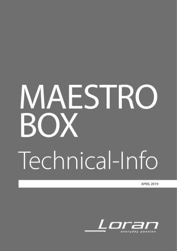 MAESTRO BOX Technical-Info