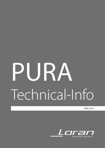 Pura technical info