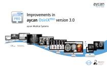Improvements in aycan OsiriXPRO Version 3.0
