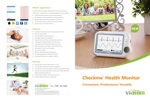 Checkme Health Monitor