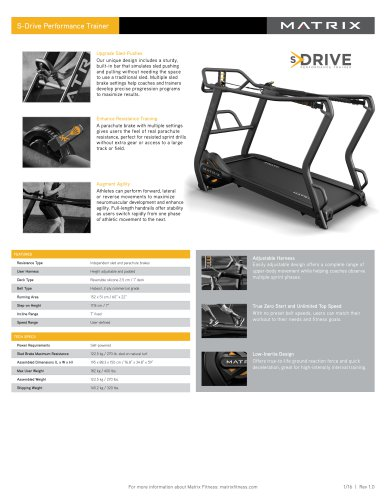 S-Drive Performance Trainer
