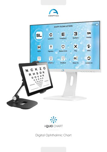 Digital Ophthalmic Chart