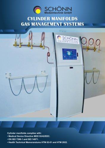 Cylinder manifolds Gas Management System