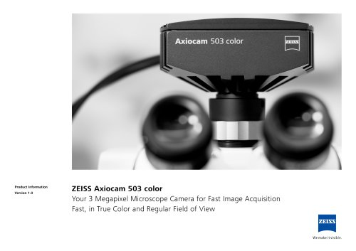 Axiocam 503 color