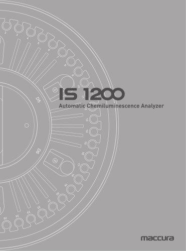 Auto Chemiluminescence CLIA & Immunology Analyzer IS1200