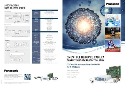 Panasonic IMV 3MOS Micro Camera
