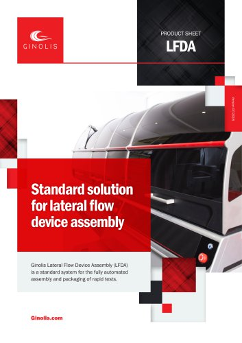 Lateral Flow Device Assembly
