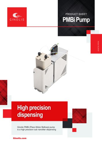 PMBi Pump Product Sheet