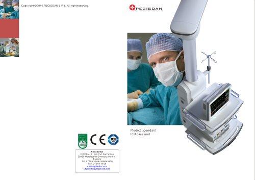 Medical pendant ICU care unit